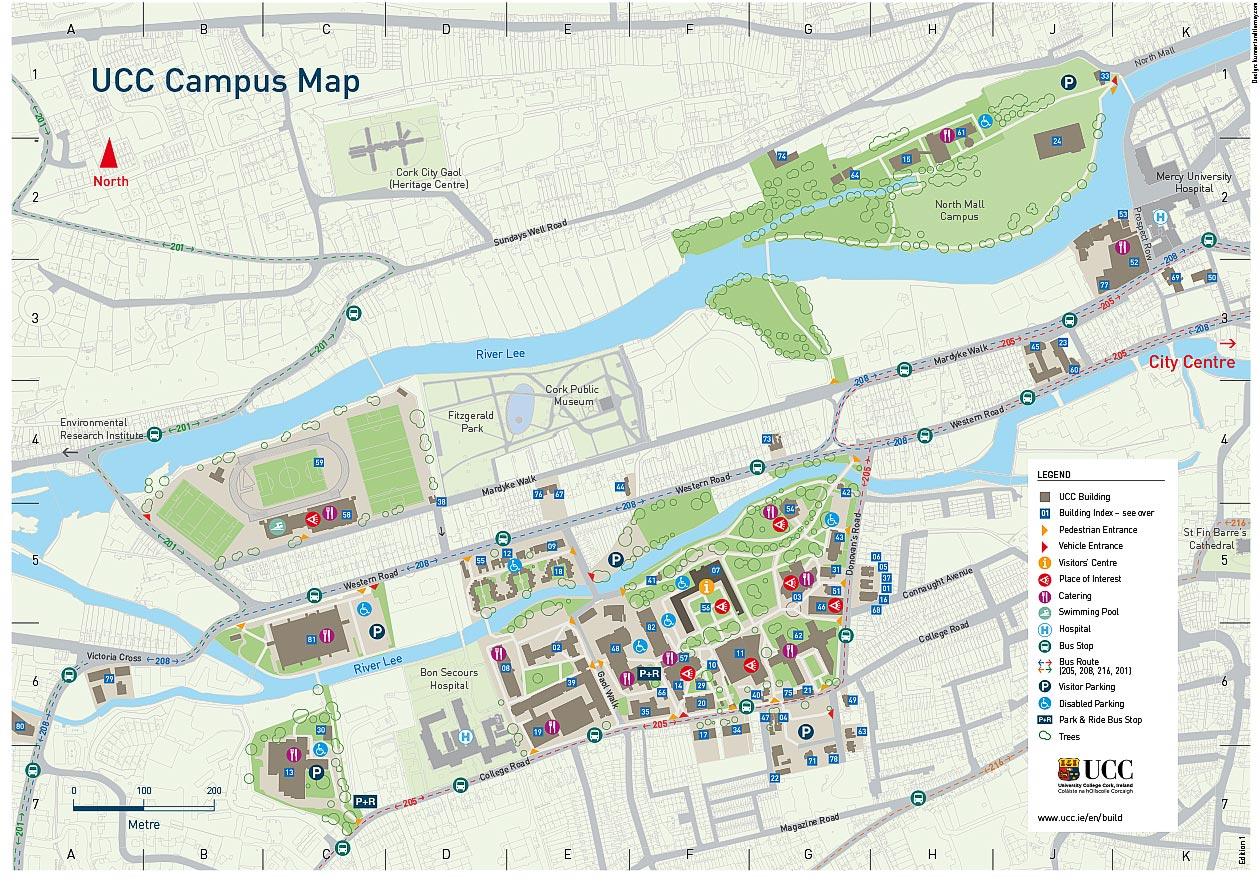 UCC Campus Map